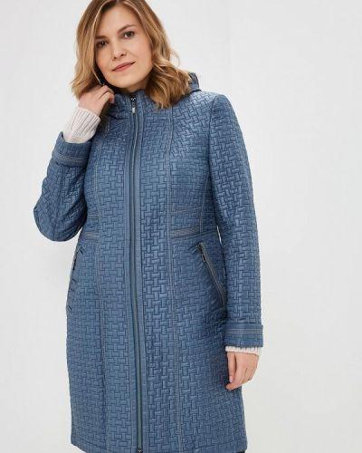 Утепленная куртка весенняя синий Montserrat