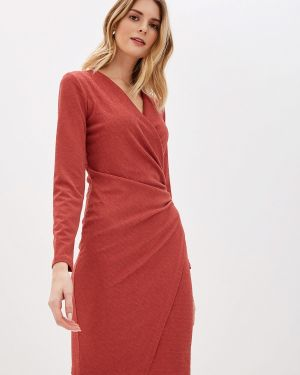 Вечернее платье коралловый красный Mankato