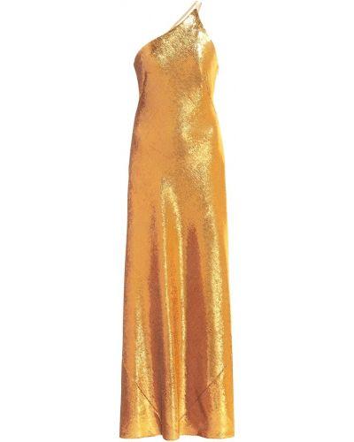 Платье золотое Galvan