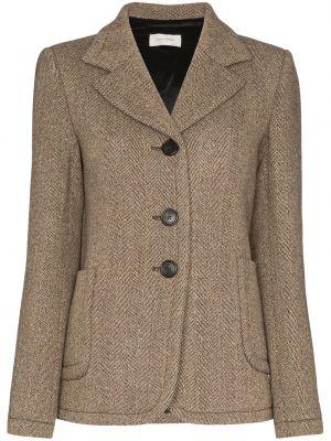 Однобортный пиджак Wales Bonner