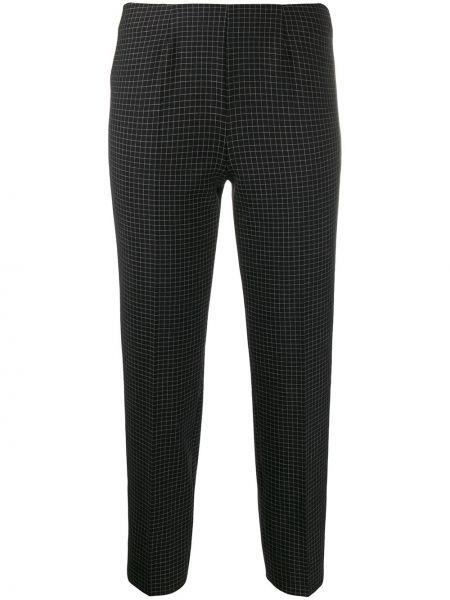 Укороченные брюки в клетку брюки-сигареты Piazza Sempione