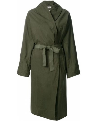 Длинное пальто с запахом до колен Humanoid