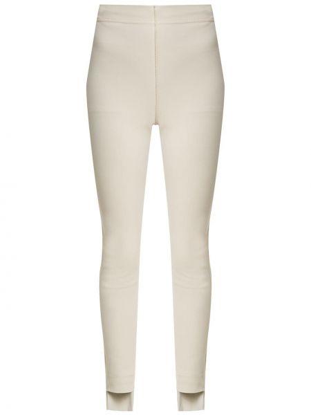 Светло-розовые брючные асимметричные брюки Gloria Coelho