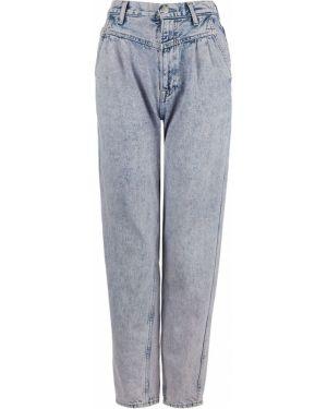 Джинсы с высокой посадкой летние Pepe Jeans