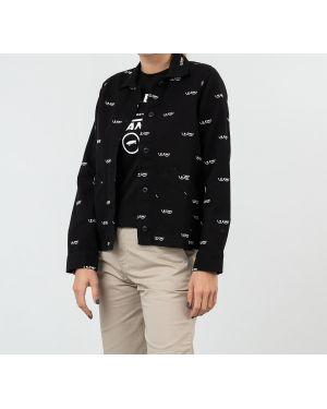 Черная куртка Vans