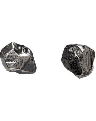 Серебряные серьги-гвоздики Chin Teo
