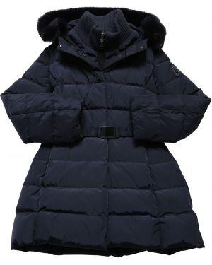 Пальто стеганое с манжетами Monnalisa