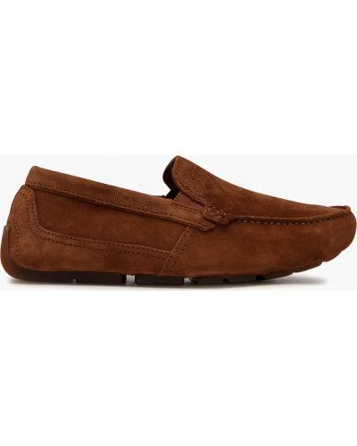 Мокасины - коричневые Clarks