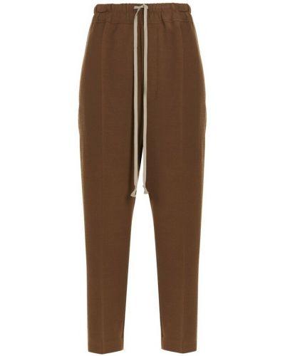 Spodnie - brązowe Rick Owens