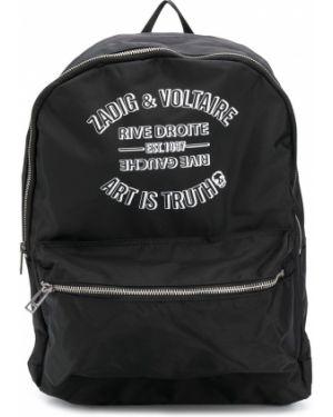 Plecak czarny Zadig & Voltaire Kids