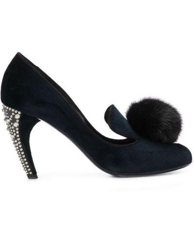 Туфли-лодочки с помпоном Louis Vuitton Pre-owned