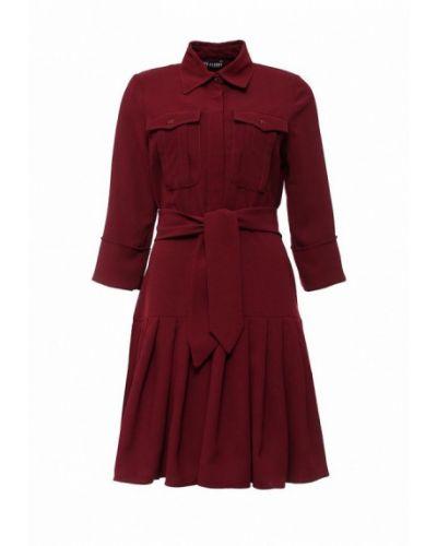 Платье бордовый платье-сарафан Love & Light