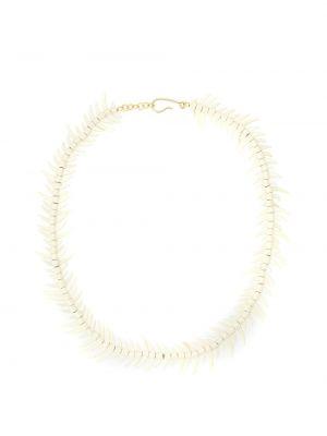 Naszyjnik - biały Osklen