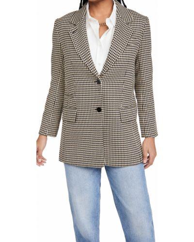 Однобортный клубный удлиненный пиджак с подкладкой Club Monaco