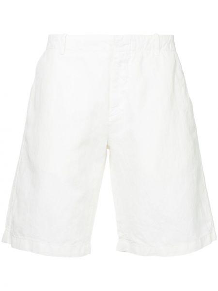 Хлопковые белые шорты-чиносы Kent & Curwen