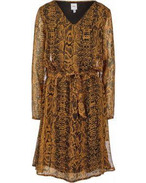 Платье с принтом Ichi