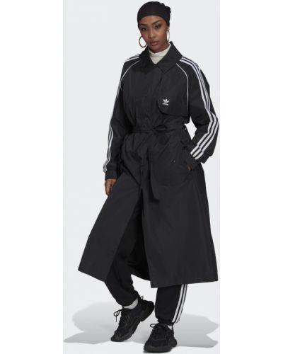 Спортивный плащ - черный Adidas