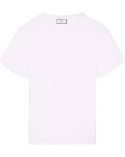 T-shirt z haftem Ami