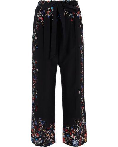 Черные прямые брюки Erdem