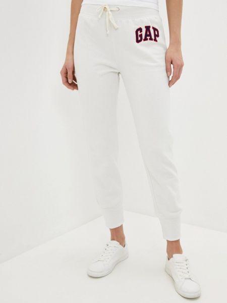 Спортивные брюки белые весенний Gap