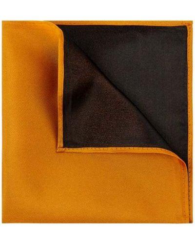 Jedwab pomarańczowy chusteczka Monti