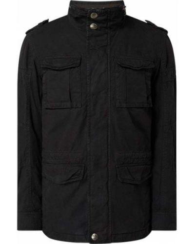 Czarna kurtka bawełniana Wellensteyn