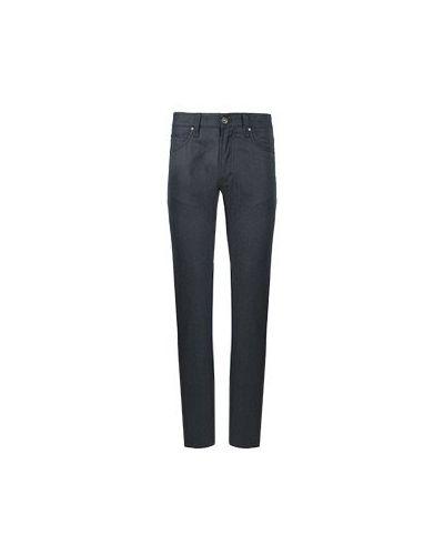 Синие прямые джинсы Cortigiani