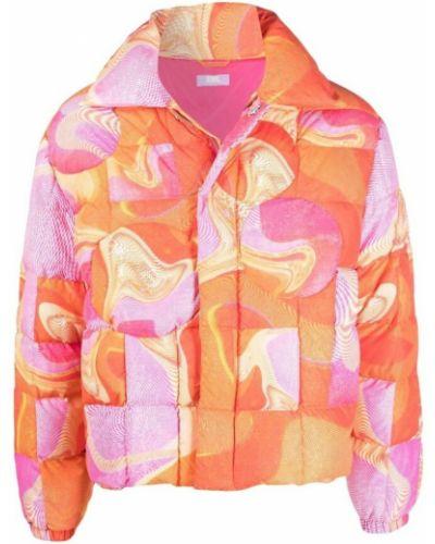 Różowy płaszcz Erl
