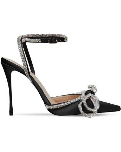 Кожаные туфли-лодочки на каблуке с острым носом Mach & Mach