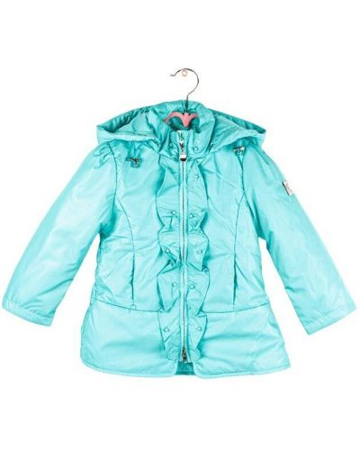Утепленная куртка - мятная Lebo Junior