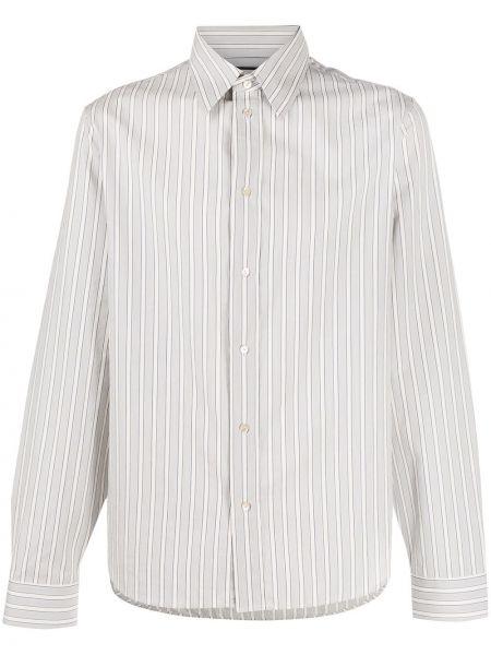 Niebieski klasyczny bawełna koszula klasyczna z mankietami Gucci