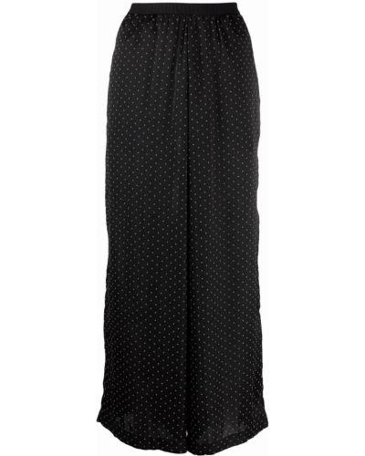 Укороченные брюки - черные Antonio Marras