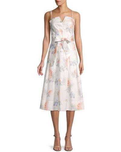 Платье с поясом Rebecca Minkoff