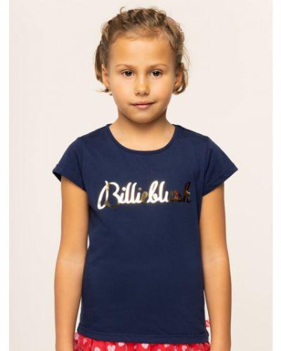 T-shirt granatowa Billieblush