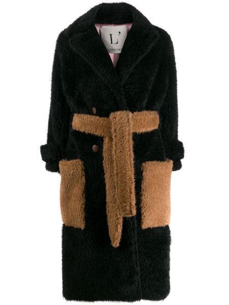 Черный пальто классическое L'autre Chose