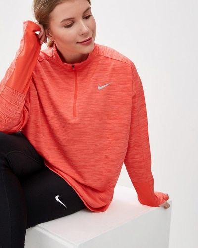 Красное поло спортивное Nike