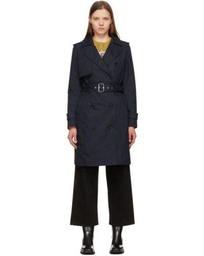 Черное стеганое пуховое длинное пальто Mackage
