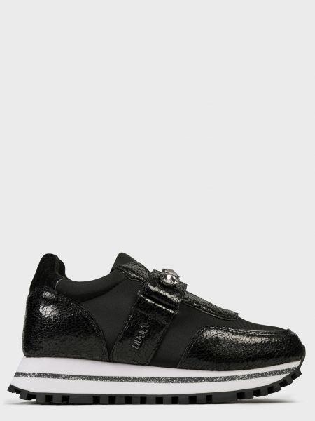 Кожаные кроссовки - черные Liu Jo