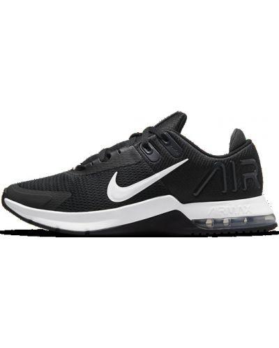 Мягкие черные туфли на шнурках Nike
