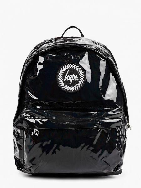 Городской черный рюкзак Hype