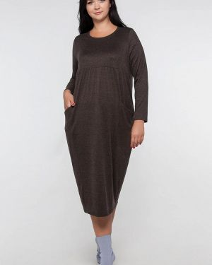Платье - коричневое Лимонти