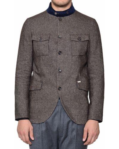 Пиджак шерстяной шелковый Luis Trenker