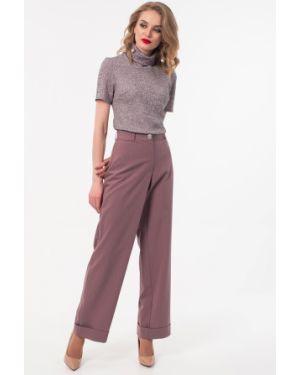 Классические брюки в полоску с поясом Wisell