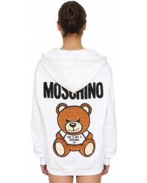 Свитшот на молнии Moschino