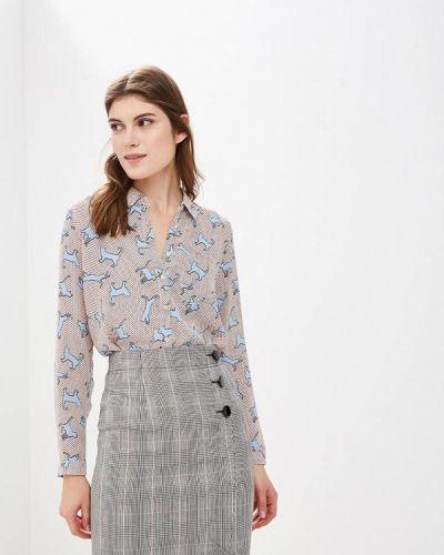 Блузка с длинным рукавом бежевый твое