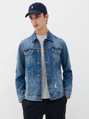 Синяя джинсовая куртка осенняя Colin's