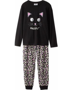 Пижама с рисунком с принтом Bonprix