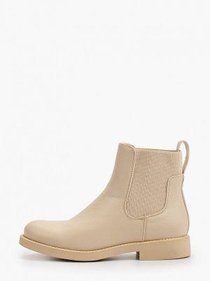 Бежевые демисезонные ботинки Ideal Shoes®