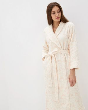 Домашний халат - белый Lelio