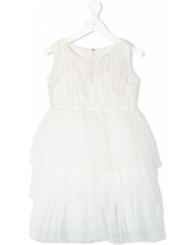Платье из фатина белое Shosho Bella